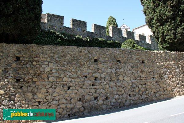 Peralada - Muralla