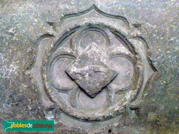 Passanant - Escut guardat al museu de l'església, potser procedent del castell
