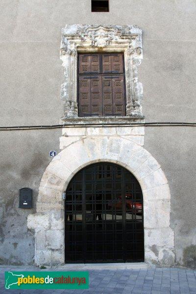La Granada - Casa del Castlà, façana nord