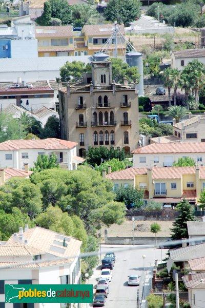 Sant Martí Sarroca - Can Balada, des del castell