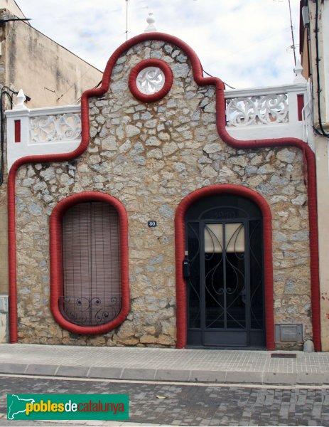 Sant Martí Sarroca - Casa del carrer Anselm Clavé, 80