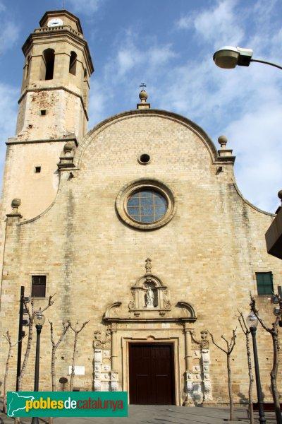 Calella - Església de Santa Maria i Sant Nicolau