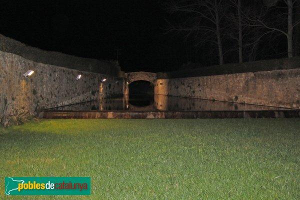 L'Armentera - Molí, vista nocturna