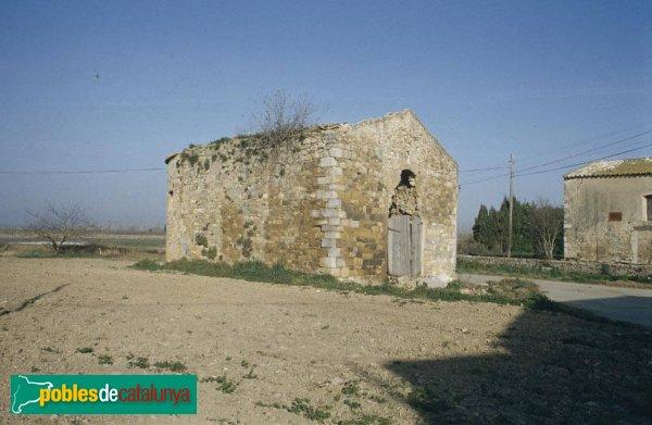 Ventalló - Capella de l'Assumpta, abans de la restauració