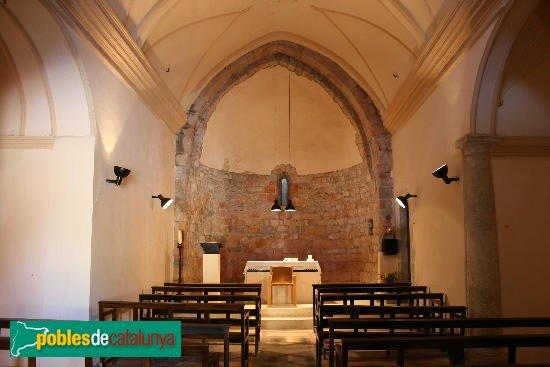 entalló - Església de Sant Sadurní de Montiró
