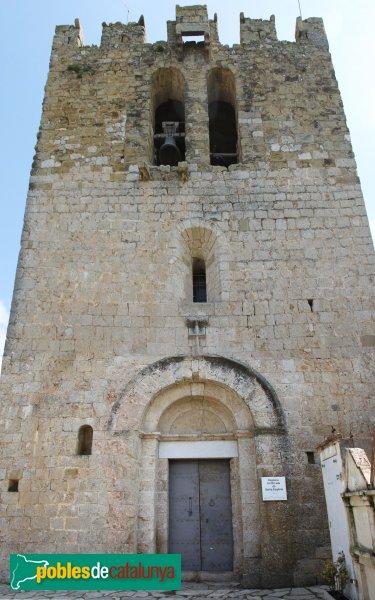 Saus - Església de Santa Eugènia
