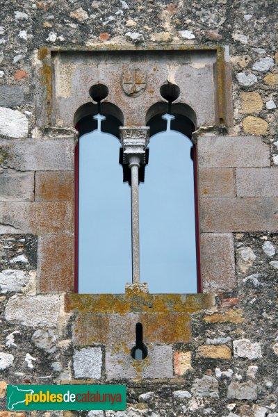 Sant Mori - Finestra del castell