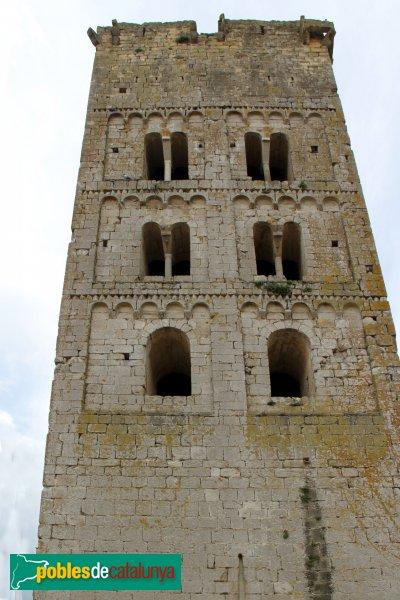 Sant Miquel de Fluvià - Campanar del Monestir