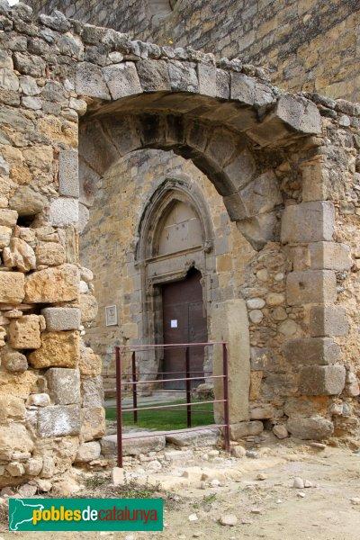 Sant Miquel de Fluvià - Antic portal
