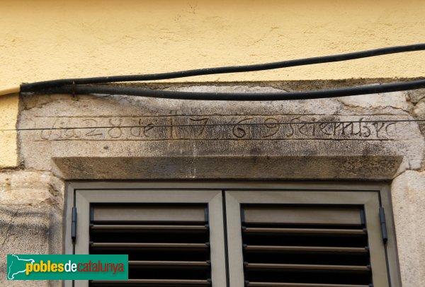 Sant Miquel de Fluvià - Llinda 1769