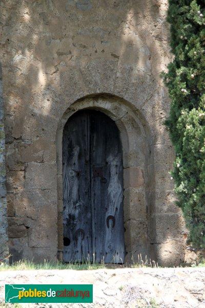 Torrelavit - Sant Martí Sadevesa, porta romànica