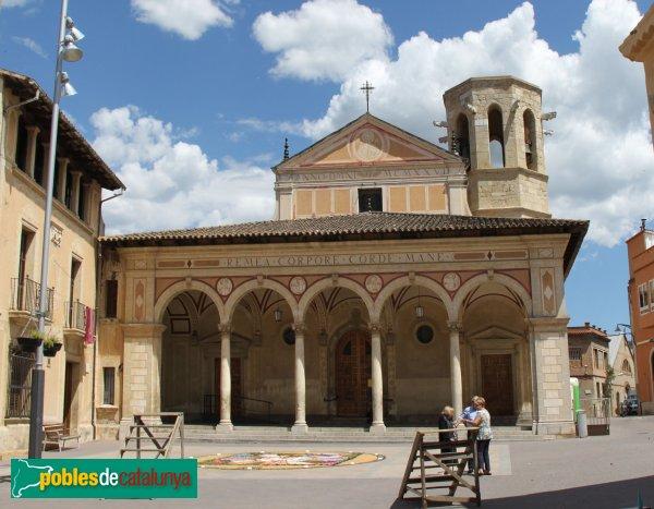 Sant Sadurní d'Anoia - Església