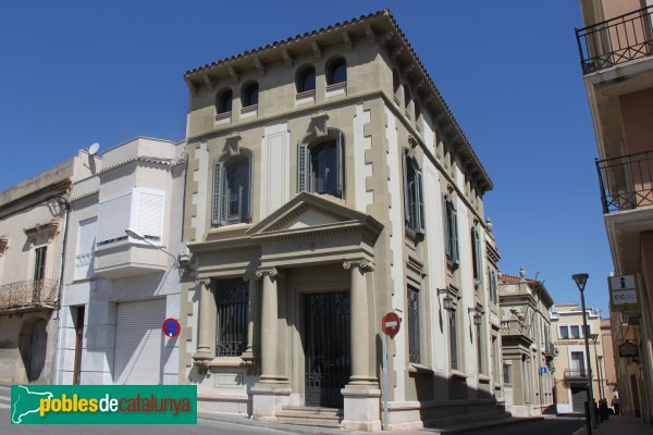 Sant Sadurní d'Anoia - Edifici de la caixa de Pensions