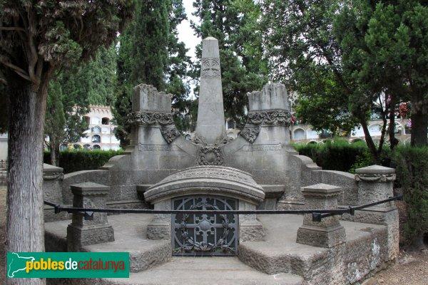 Sant Sadurní d'Anoia - Cementiri, panteó Domènech