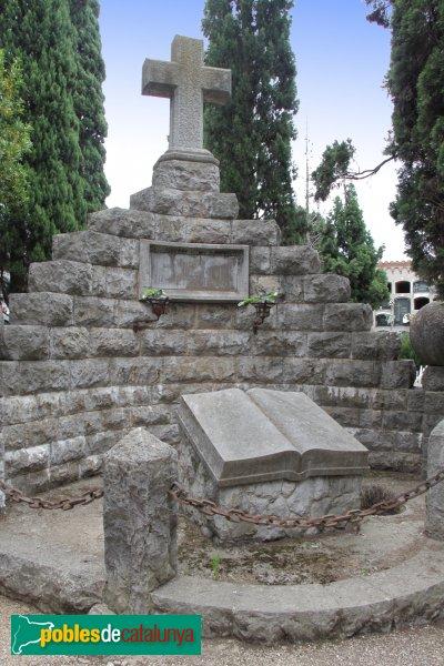 Sant Sadurní d'Anoia - Cementiri, panteó Mestres Domènech