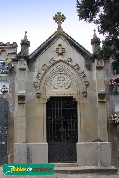 Sant Sadurní d'Anoia - Cementiri, Sant Sadurní d'Anoia - Cementiri, panteó Raventós