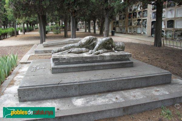 Sant Sadurní d'Anoia - Cementiri, panteó Mir-Ragué