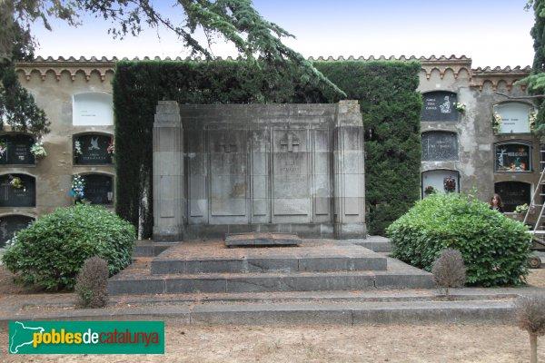 Sant Sadurní d'Anoia - Cementiri, panteó Ferrer
