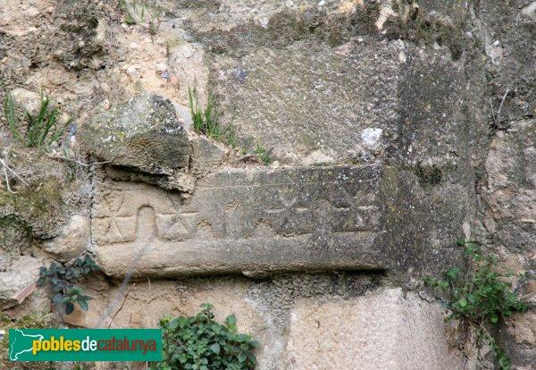 Pontós - Cases del Castell, detall