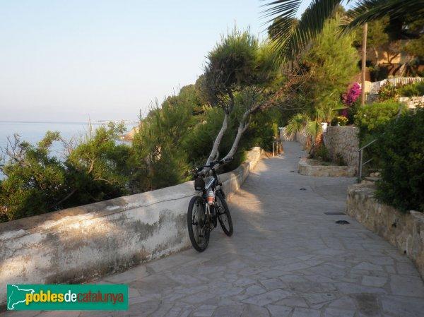 Roda de Barà - Camí de ronda des del Roc de Sant Gaietà