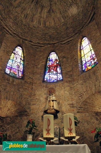 Igualada - Asil del Sant Crist, altar de la capella