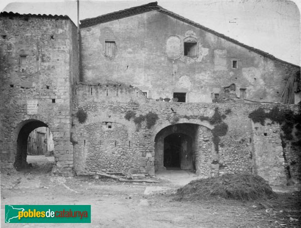 Bàscara - Can Vildalic, foto antiga