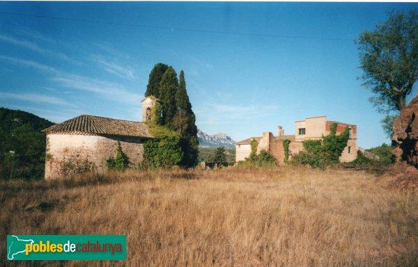 Rellinars - Mas les Ferreres i capella de Sant Felip Neri