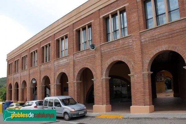 Sant Martí Sarroca - Ajuntament, ampliació moderna