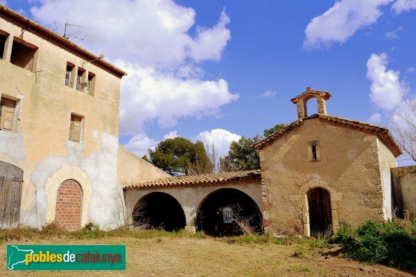 Sant Martí Sarroca - Cal Miret, capella de Sant Sadurní