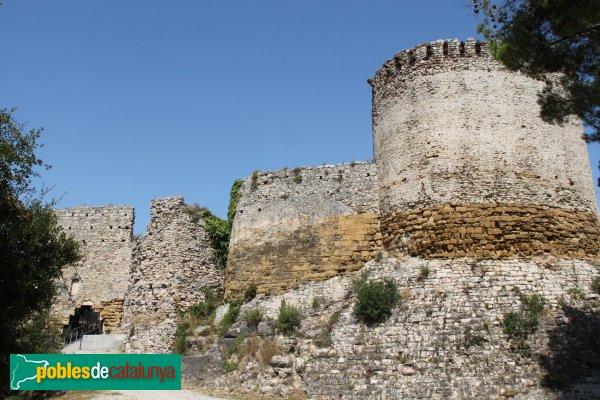 Gelida - Castell, recinte sobirà