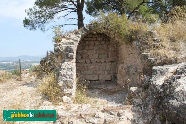 Gelida - Castell, volta de capella