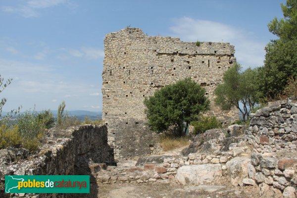 Gelida - Castell, construccions del segle XIV