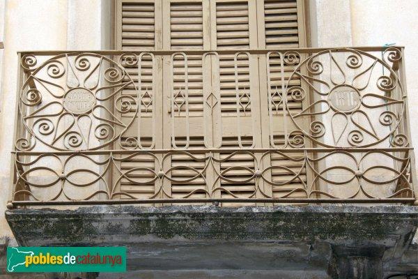 Gelida - Balcó del carrer Major