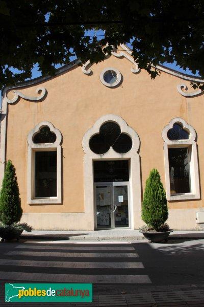 Sant Llorenç d'Hortons - Societat Cultural, sala de baix