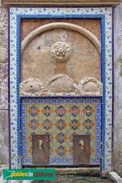 Sant Quintí de Mediona - Font del Candeles