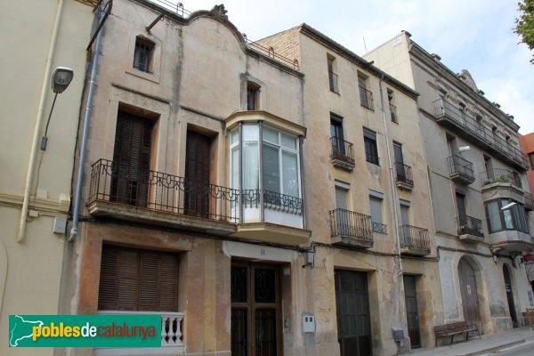 Sant Quintí de Mediona - Cases del carrer Montserrat