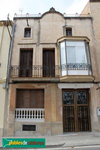 Sant Quintí de Mediona - Casa del carrer Montserrat, 45