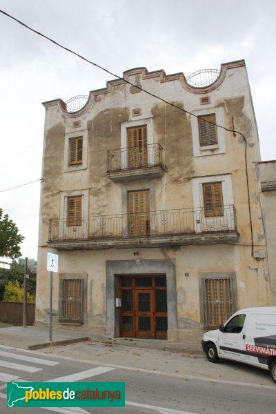 Sant Quintí de Mediona - Casa del carrer Montserrat, 28