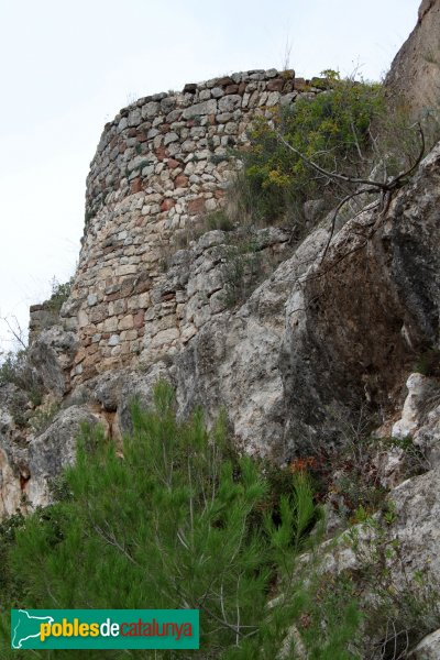 Mediona - Castell, torre del segle X