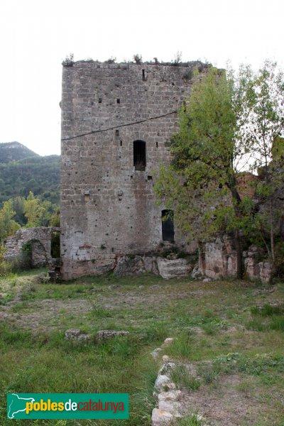 Mediona - Castell, torre del segle XV