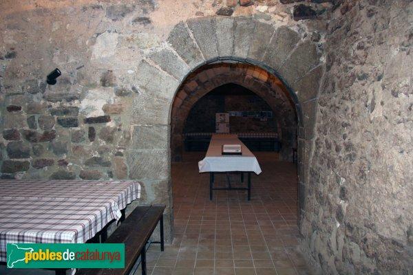 Mediona - Castell, antiga porta del castell