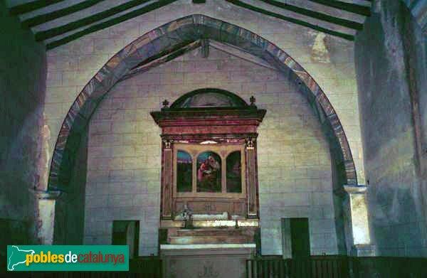 Mediona - Capella de Santa Anna, abans de la restauració