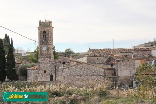 Mediona - Barri de l'Església