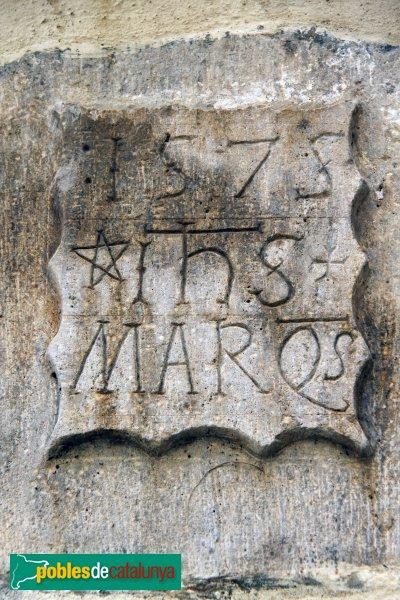 Mediona - Cal Marquès, detall