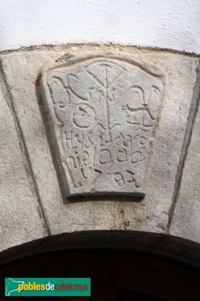 Mediona - Escut a un portal