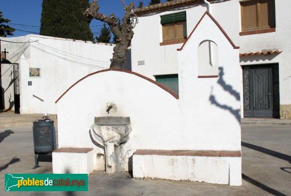 Font-rubí - Santa Maria de Bellver, font