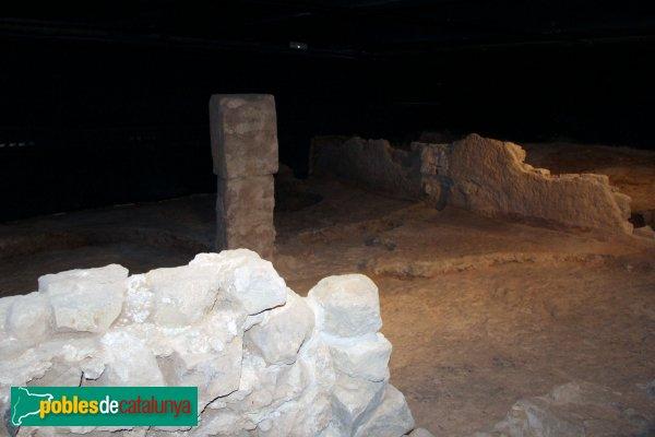 Barcelona - Domus romana i sitges del carrer de la Fruita