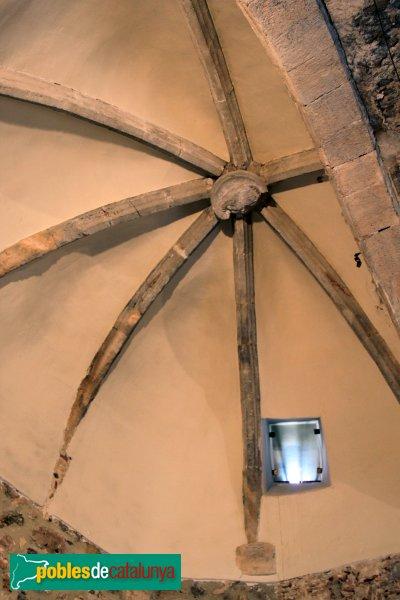 Santuari de Santa Maria de Foix, volta de l'absis