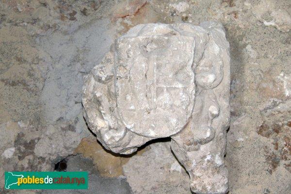 Santuari de Santa Maria de Foix, escultura trobada al reble