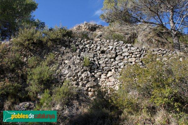Torrelles de Foix - Restes del Castell de Foix